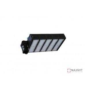 300W Natural White LED Shoebox Street Light Black VBL