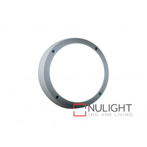 Vibe 18W Warm White LED Wall Light In Silver VBL