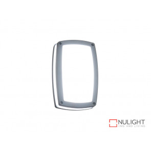 Vibe 9W Warm White LED Wall Light In Silver VBL