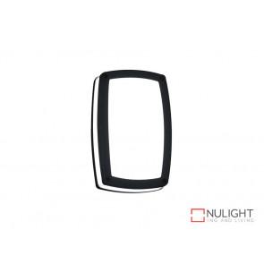 Vibe 9W Warm White LED Wall Light In Black VBL