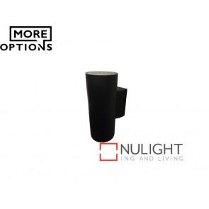 Vibe 2x6W LED 304 Series Up/Down Black Wall Light VBL