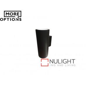 Vibe 2x8W LED 305 Series Up/Down Black Wall Light VBL