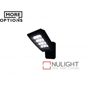 Vibe 12x1W LED 307 Series Black Wall Light VBL