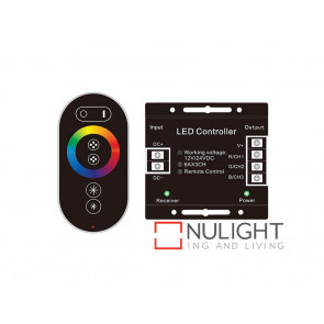 Vibe RGB LED Controller With RF Touch Controller VBL