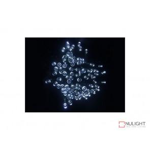 White Solar powered Christmas Lights 17m Length VBL