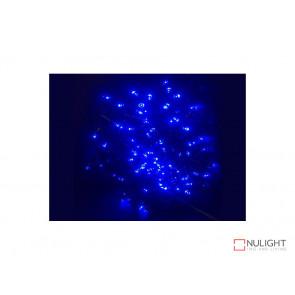 Blue Solar powered Christmas Lights 50m Length VBL