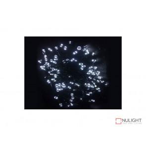 White Solar powered Christmas Lights 50m Length VBL