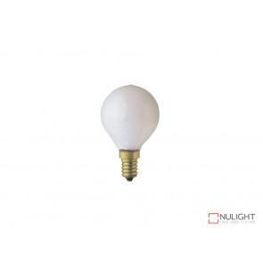 Long Life 25W Pearl Fancy Round Lamp Edison Screw VBL