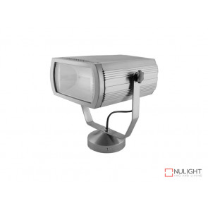 Surface Mounted 70W Metal Halide Floodlight Silver (Body Only) VBL