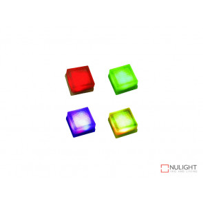 Vibe Set Of Four RGB Brick Lights VBL