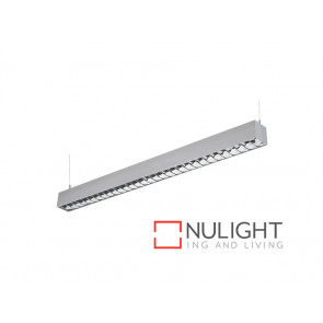 Vibe 2x28W Skyline Fluorescent Supended T-bar Troffer with Louvre VBL
