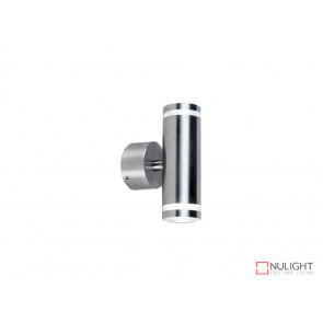 Stainless Steel Up Down Wall Light IP65 Weatherproof 2X1W VBL