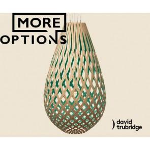 Koura Aqua David Trubridge Pendant DAV
