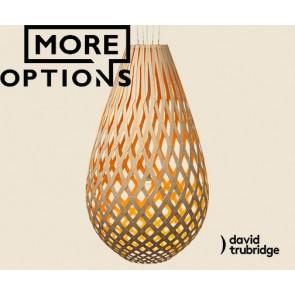 Koura Orange David Trubridge Pendant DAV