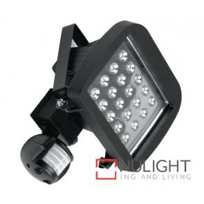 Floodlight Sensor Led 20W Black ASU