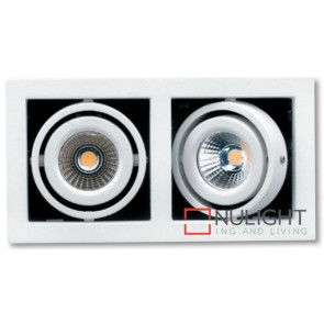 Gimbal Led 2X6.5W White ASU