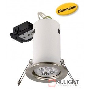 Down Light Led 5W Dimmable Satin Chrome ASU