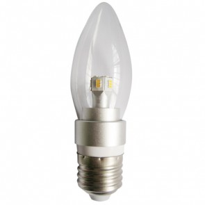LED Clear Candle 4W ES Dimmable Light Bulb CLA Lighting