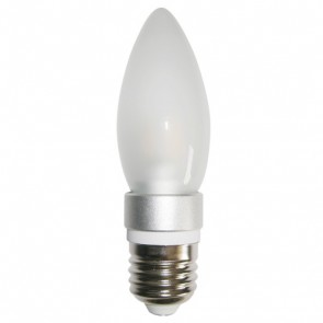 LED Frosted Candle Light Bulb CAN13 CLA Lighting
