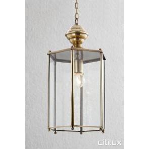 Leumeah Simplism Brass Pendant Elegant Range Citilux