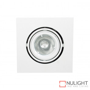One Light 12v MR16 Square Double pivot downlight ORI