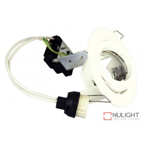 Chip Adjustable Fitting Only White ORI