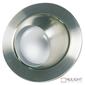 100W Eyeball Downlight Brushed Chrome ORI