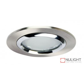 Vida 100 Round Glass Covered Downlight Br.Chr ORI