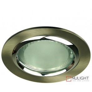 Vida 120 Round Glass Covered Downlight Br Chrome ORI