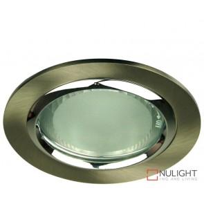 Vida 120 Round Glass Covered Downlight Br Chrome ORI
