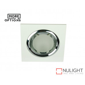 240V E27 Glass Covered Downlight VIDA SQUARE GLASS COVERED EOS ORI