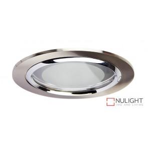 Vida 140 Round Glass Covered Downlight Br.Chr ORI