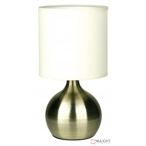 Lotti Touch Lamp Antique Brass ORI