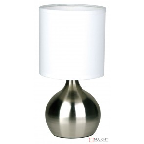Lotti Touch Lamp Brushed Chrome ORI
