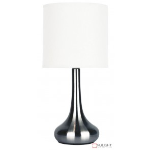 Lola Touch Lamp Brushed Chrome ORI