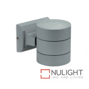 Exterior Wall Led Round Silver Grey ASU