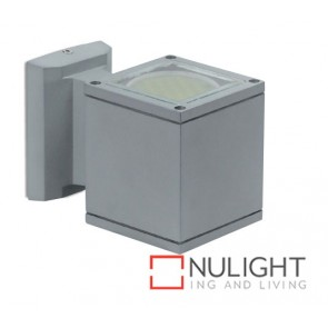 Exterior Wall Led Square Silver Grey ASU