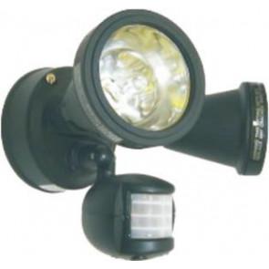 Deluxe Halogen Security Floodlight with motion sensor Lighting Avenue