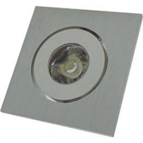 Square Under Cabinet Recessed Light in Aluminium Lighting Avenue