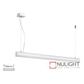 Linear Suspension mount T5 588X50 White ASU