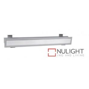 Linear Recessed T5 616X75 Grey Striplight ASU