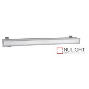 Linear Recessed T5 918X75 Grey Striplight ASU