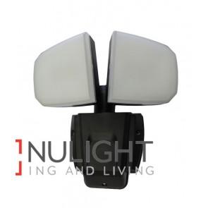 SECURITY LED Doulbe Adjustable Black without sensor 4200K 12W IP44 (1139.6 Lumens) CLA