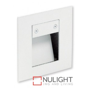 Square Step Light Led White ASU
