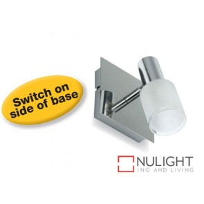 Flush Box mount Spot Led Single Switched Chrome ASU