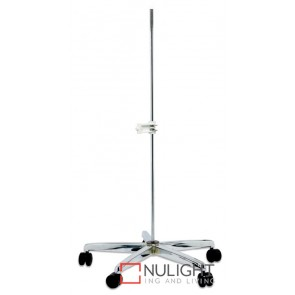 Base Castor Adjustable Chrome Equipoise Model ASU