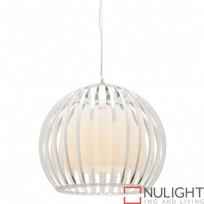 Lucerne 1 Light Pendant Large Clear COU