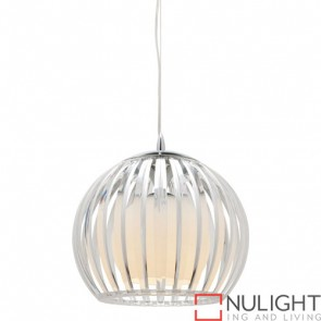 Lucerne 1 Light Pendant Small Clear COU