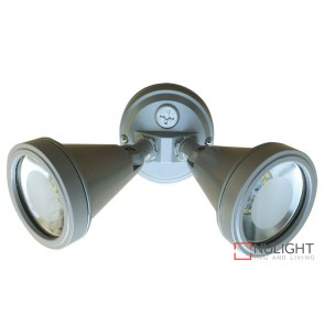 Cadet Led Twin Flood Silver ORI