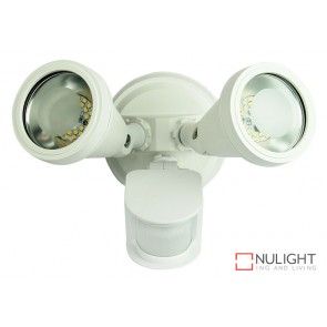 Cadet Led Twin Sensor Flood White ORI